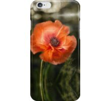 Poppy iPhone Case/Skin