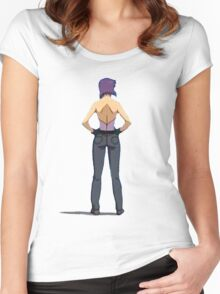 TheMajor Women's Fitted Scoop T-Shirt
