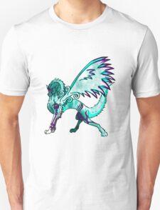 Ice Wolf - White Unisex T-Shirt