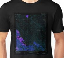 USGS TOPO Map California CA Chimineas Ranch 289203 1959 24000 geo Inverted Unisex T-Shirt