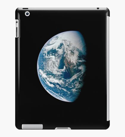 View of Earth taken from the Apollo 13 spacecraft. iPad Case/Skin