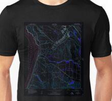 USGS TOPO Map California CA Surf 300744 1947 24000 geo Inverted Unisex T-Shirt
