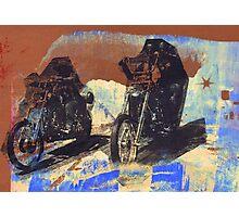 easy rider silkscreen brown Photographic Print