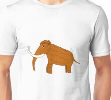 Picture of a mammoth ice age Unisex T-Shirt