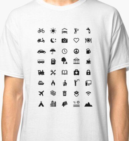 TRAVELER'S T-SHIRT Classic T-Shirt