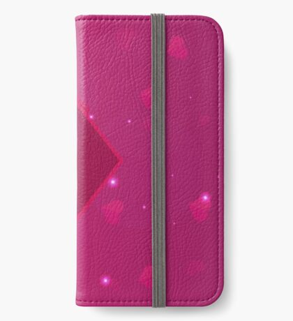 Valentines Day. Background with hearts. iPhone Wallet/Case/Skin