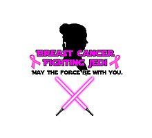 Cancer Fighting Jedi: Version 2 Photographic Print