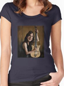Malcolm Young Women's Fitted Scoop T-Shirt