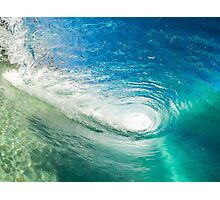 Salty Wave Photographic Print