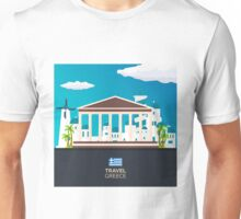 Travel to Greece skyline Unisex T-Shirt