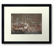 Concrete 11 Framed Print
