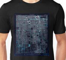USGS TOPO Map California CA Watts 301253 1937 24000 geo Inverted Unisex T-Shirt