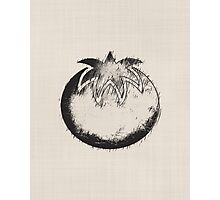 Abstract Sketch Tomato Photographic Print
