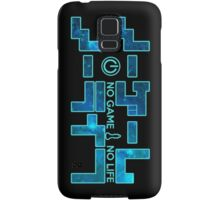 No Game No Life Logo ~ Turquoise Galay Samsung Galaxy Case/Skin