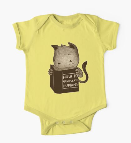 Cat Book How To Manipulate Humans One Piece - Short Sleeve