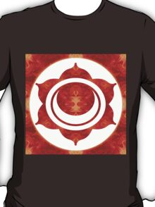 Exploding Sensuality Abstract Chakra Art  T-Shirt