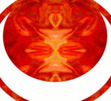 Exploding Sensuality Abstract Chakra Art  Sticker