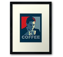 Damn Fine Coffee! Framed Print