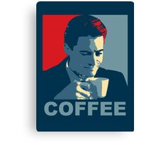 Damn Fine Coffee! Canvas Print