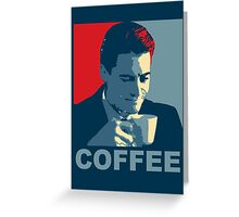 Damn Fine Coffee! Greeting Card