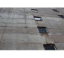 Concrete Wall Photographic Print