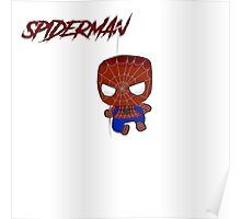 Baby Spiderman Poster