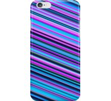 Cute slantingly stripes iPhone Case/Skin