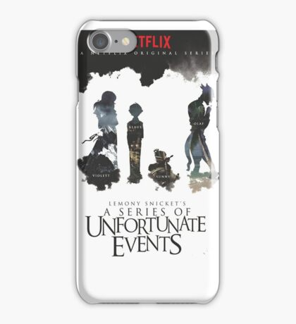 A Series of Unfortunate Events iPhone Case/Skin