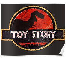 Jurassic Story Poster