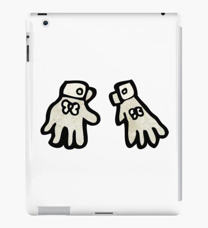cartoon gloves iPad Case/Skin