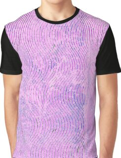 marbled wave pink purple Graphic T-Shirt