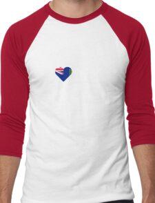 I Love My Hot British Virgin Islander Men's Baseball ¾ T-Shirt