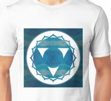 Dimensional Communications Abstract Chakra Art  Unisex T-Shirt