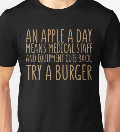 An Apple A Day - Doctor Edition Unisex T-Shirt