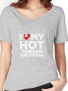 I Love My Hot Tongan Girlfriend Women's Relaxed Fit T-Shirt