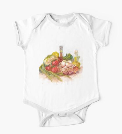Still life with vegetables One Piece - Short Sleeve