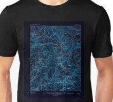 USGS TOPO Map California CA Downieville 299339 1897 125000 geo Inverted Unisex T-Shirt
