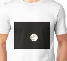 Moon at midnight Unisex T-Shirt