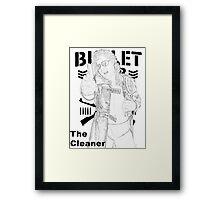 """The Cleaner"" Kenny Omega  Framed Print"
