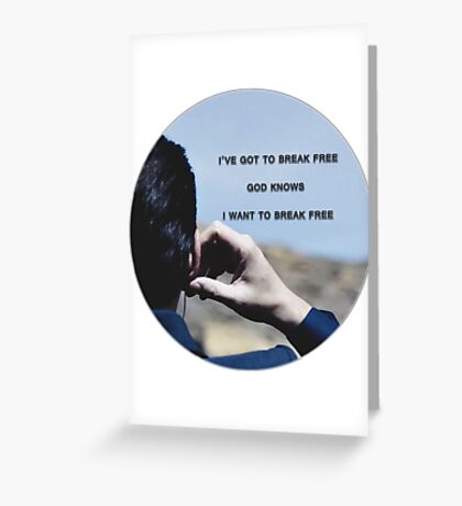 Moriarty. Greeting Card