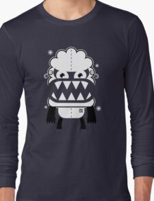 Monster by MUCK. Crypto Zoo. Yeti Long Sleeve T-Shirt