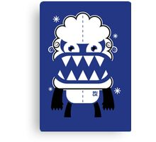 Monster by MUCK. Crypto Zoo. Yeti Canvas Print