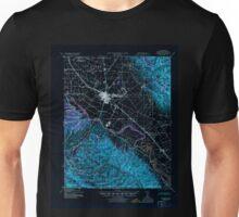 USGS TOPO Map California CA Salinas 298822 1940 62500 geo Inverted Unisex T-Shirt