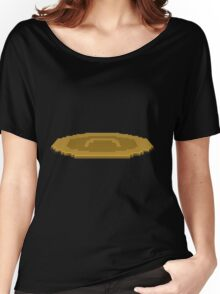 Glitch furniture rug currant quoin rug Women's Relaxed Fit T-Shirt