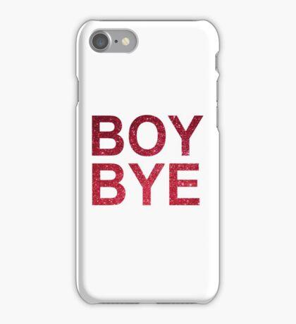 Boy Bye red glitter | Beyonce iPhone Case/Skin