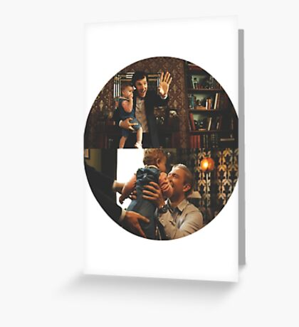 Johnlock Greeting Card