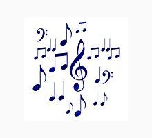 Singing The Blues Abstract Symbol Art Unisex T-Shirt