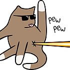 Cat Butt Laser by jezkemp