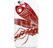 Red Winged Beauty Fantasy Designs Abstract Holiday Art iPhone Case/Skin