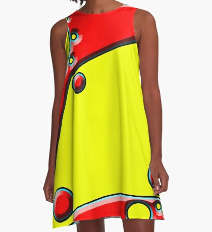 .Pattern B-2. .Expanded to Fill.  A-Line Dress